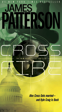 Cross Fire by James Patterson - Cover by M80 Branding