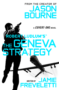 The Geneva Strategy by Robert Ludlum | Cover by M80 Branding