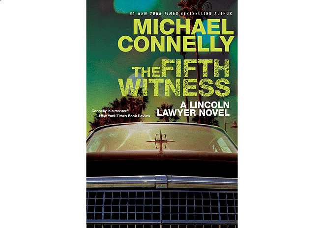 The Fifth Witness by Michael Connelly | Cover Design by M80 Branding