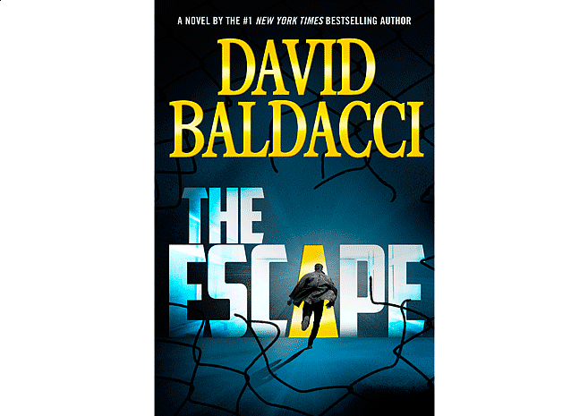 The Escape by David Baldacci | Cover Design by M80 Branding - Large