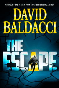 The Escape by David Baldacci | Cover Design by M80 Branding