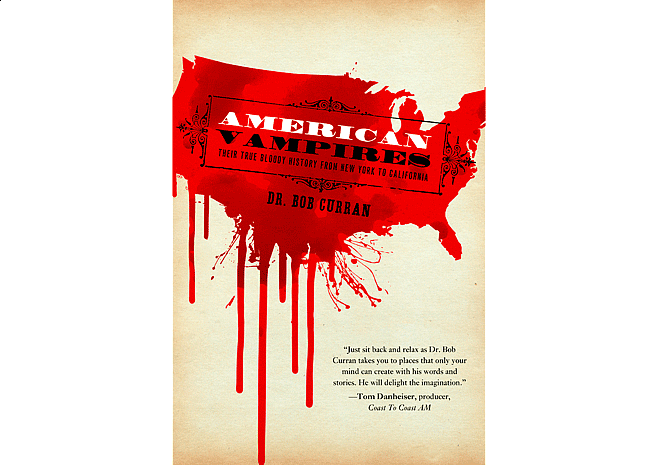 American Vampires by Dr. Bob Curran | Cover by M80 Branding - Large