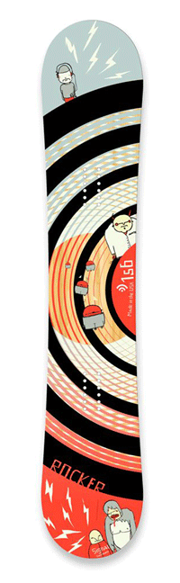 Signal Rocker | Skateboard Design by M80 Branding, Portland OR