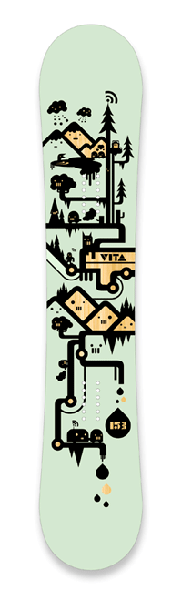 Signal Vita | Skateboard Design by M80 Branding, Portland OR