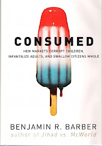 Consumed by Bejamin R. Barber | Cover Design by M80 Branding