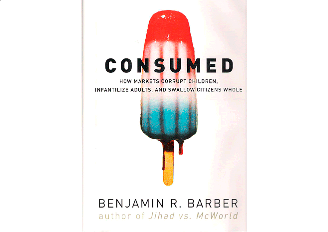 Consumed by Bejamin R. Barber | Cover Design by M80 Branding - Large