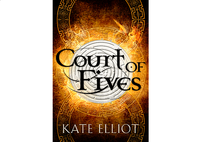 Court of Fives by Kate Elliot | Cover by M80 Branding - Large
