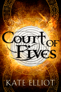 Court of Fives by Kate Elliot | Cover by M80 Branding
