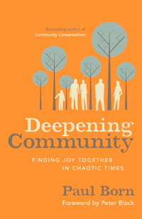 Deepening Community by Paul Born | Cover Design by M80 Branding