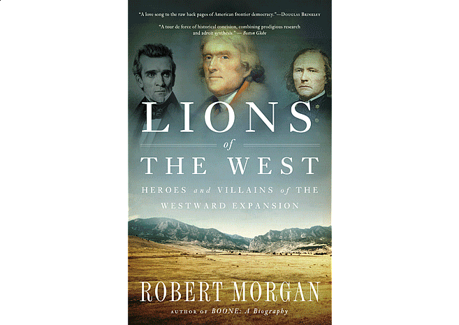 Lions of the West by Robert Morgan | Cover Design by M80 Branding - Large