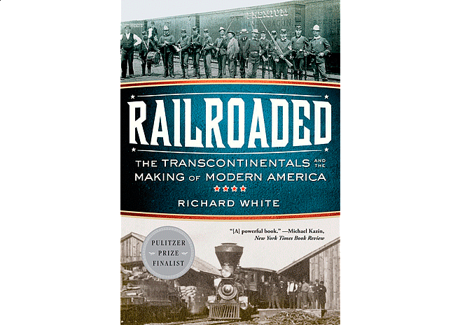 Railroaded by  Richard White | Cover Design by M80 Branding - Large