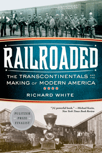 Railroaded by  Richard White | Cover Design by M80 Branding