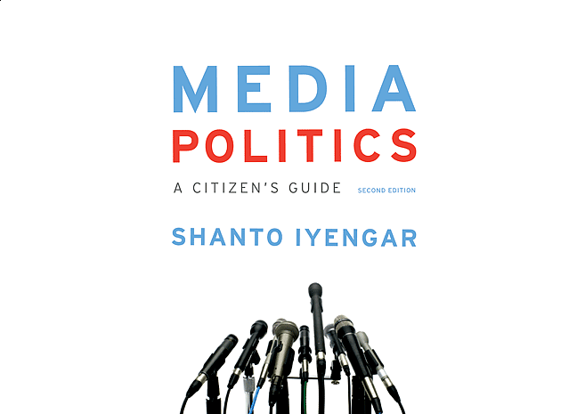 Media Politics by Shanto Iyengar | Cover by M80 Branding - Large