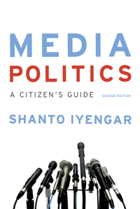 Media Politics by Shanto Iyengar | Cover by M80 Branding
