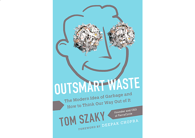 Outsmart Waste by Tom Szaky | Cover by M80 Branding - Large