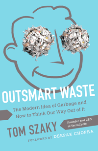 Outsmart Waste by Tom Szaky | Cover by M80 Branding