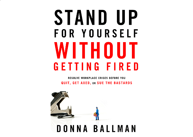 Stand Up For Yourself by Donna Ballman | Cover Design 2 - Large