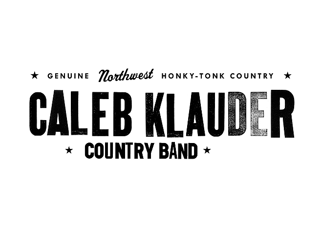 Caleb Klauder Country Band | Music Branding & Logos by M80 Design - Large