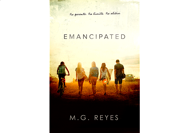 Emancipated by M.G. Reyes | Cover by M80 Branding - Large