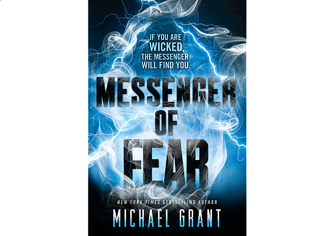 Messenger of Fear by Michael Grant | Cover by M80 Branding - Large