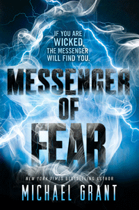 Messenger of Fear by Michael Grant | Cover by M80 Branding