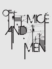 Of Mice and Men | Lettering by M80 Design, Portland OR