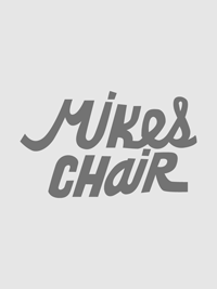 Mikes Chair | Lettering by M80 Design, Portland OR