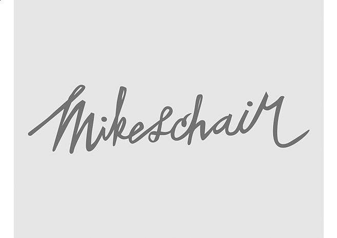 Mikeschair | Lettering by M80 Design, Portland OR - Large