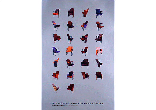26th Northwest Film Fest | Poster Design by M80 Design - Large