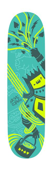 Rainmaker | Skateboard Design by M80 Branding, Portland OR