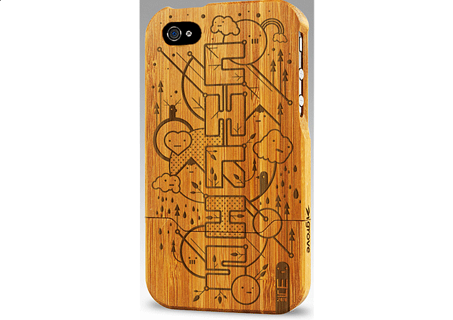 Custom Iphone Case | Design by M80 Branding, Portland OR - Large