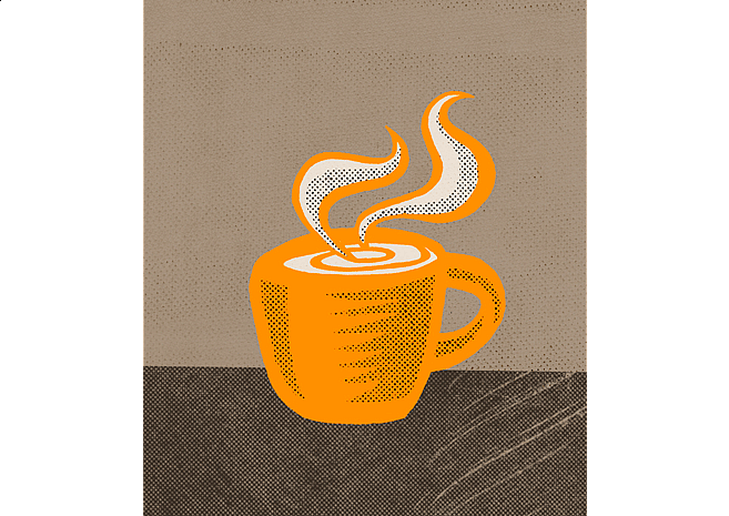 Coffee Mug | Personal Illustrations by M80 Branding, Portland - Large
