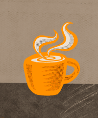 Coffee Mug | Personal Illustrations by M80 Branding, Portland