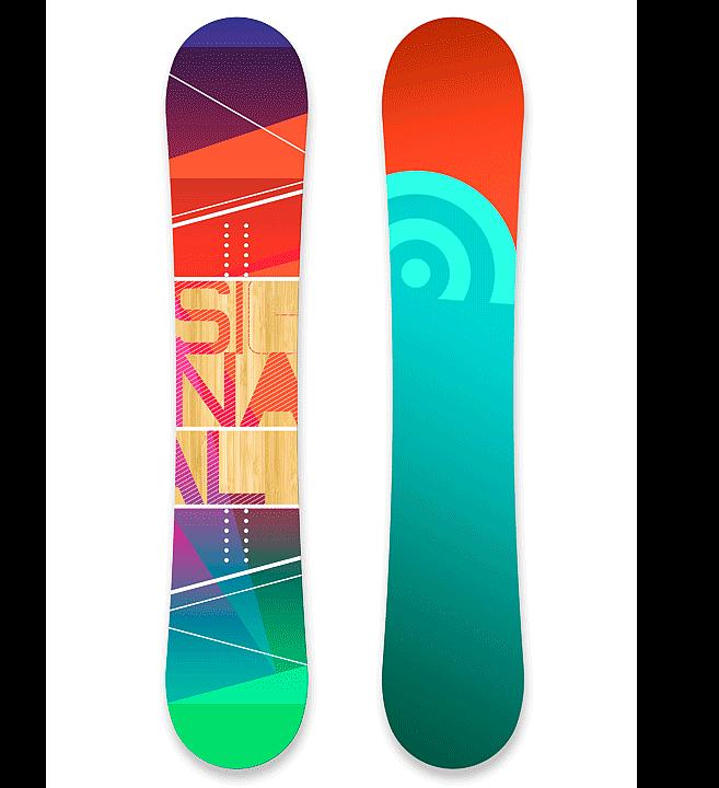 Signal Omni | Skateboard Design by M80 Branding, Portland - Large