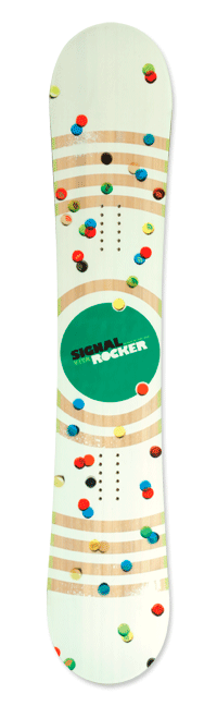 Signal Rocker 2 | Skateboard Design by M80 Branding, Portland OR