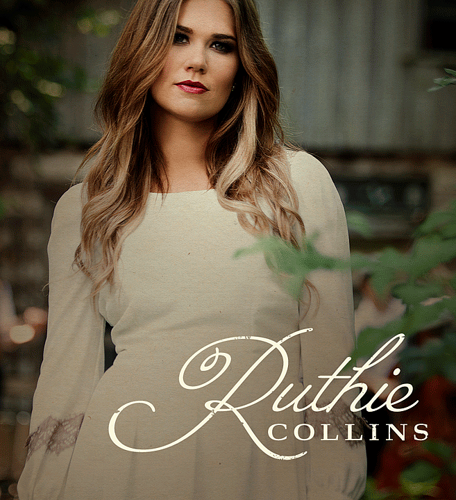 Ruthie Collins | Music Branding & Logos by M80 Design, Portland OR - Large