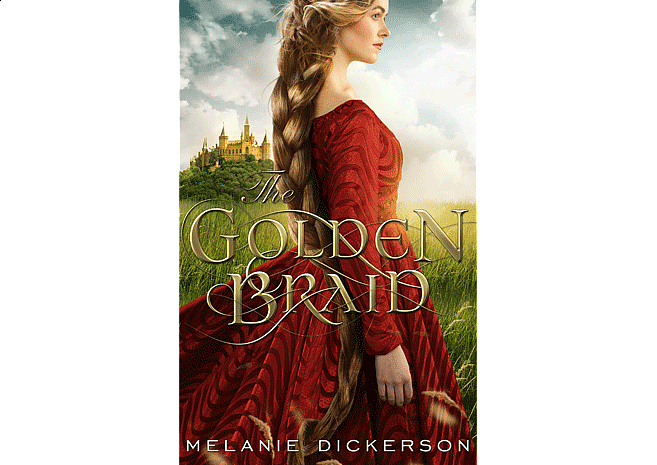 The Golden Braid by Melanie Dickerson | Cover Design by M80 Branding