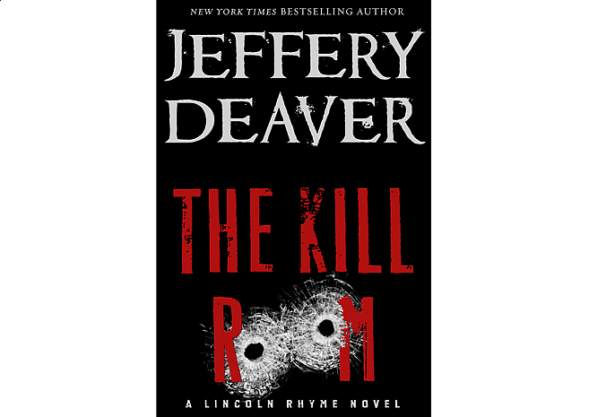 The Kill Room by Jeffery Deaver | Cover Design by M80 Branding