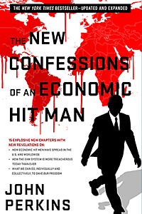 The New Confessions of an Economic Hit Man by John Perkins | Cover Design by M80 Branding