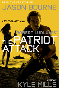 The Patriot Attack by Robert Ludlum | Cover Design by M80 Branding