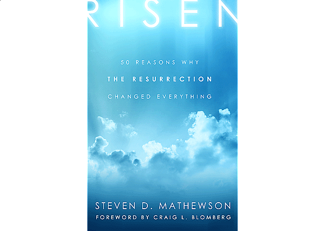 Risen by Steven D. Mathewson | Cover Design by M80 Branding