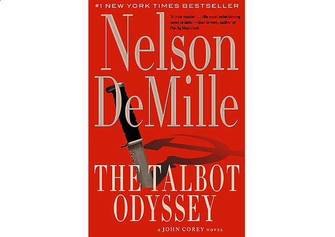 The Talbot Odssey by Nelson DeMille | Cover Design by M80 Branding