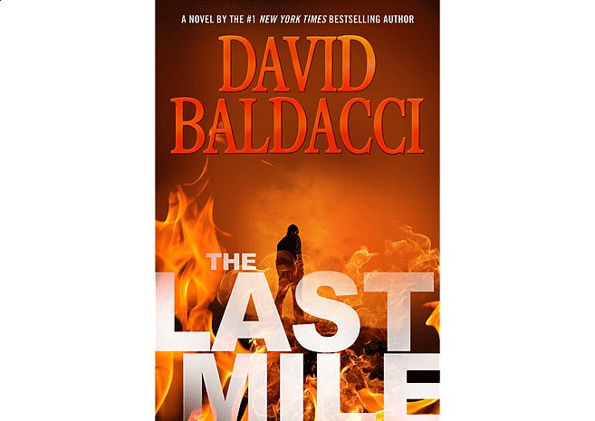 The Last Mile by David Baldacci | Cover Design by M80 Branding