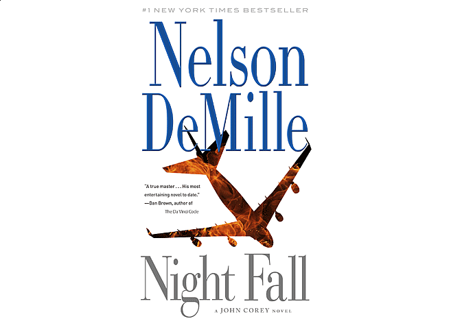 Night Fall by Nelson DeMille | Cover Design by M80 Branding