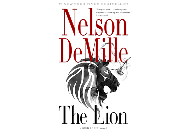 The Lion by Nelson DeMille | Cover Design by M80 Branding
