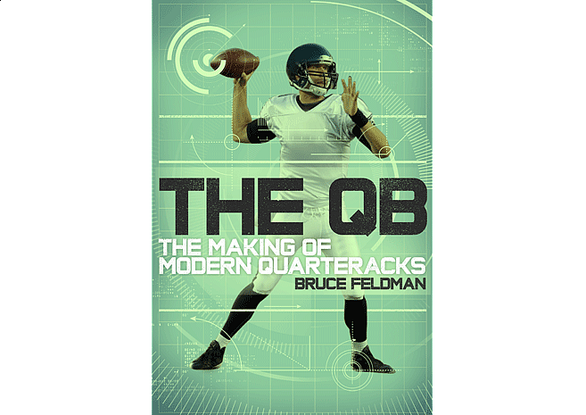 The QB by Bruce Feldman | Cover Design by M80 Branding