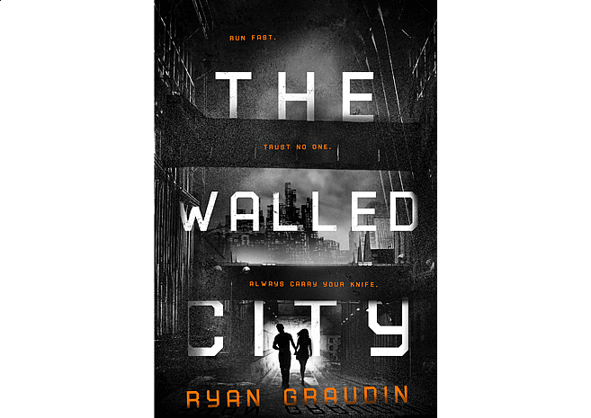 The Walled City by Ryan Graudin | Cover Design by M80 Branding