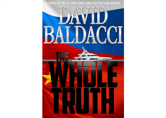 The Whole Truth by David Baldacci | Cover Design by M80 Branding