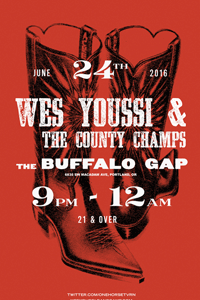 County Champs Buffalo Gap Poster