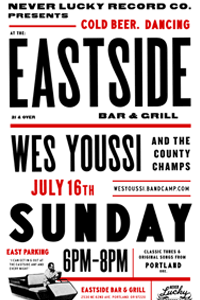 Wes Youssi Eastside Show Poster